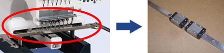 ジャノメ MB-7 1頭7針刺しゅう機