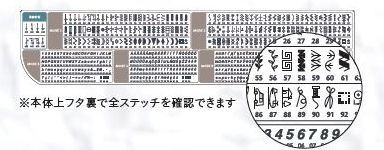 ジャノメ ミシン カンターレ