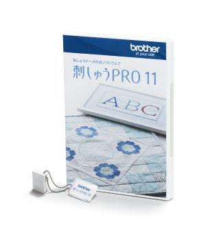 PC刺しゅうデータ作成ソフトウェア 刺しゅうPRO 11